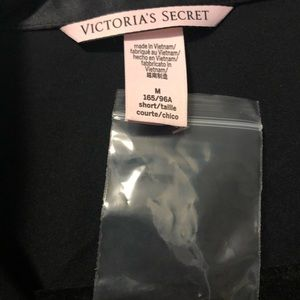Victoria's Secret Intimates & Sleepwear - VS Black Satin PJ set